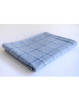 Blue Abraham Moon pram blanket