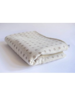 Abraham Moon cream large blanket