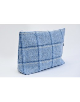 Blue Abraham Moon nappy pouch